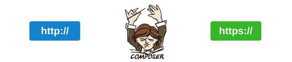 Jak zmusić Composer-a do używania połączenia HTTPS z Packagist ?